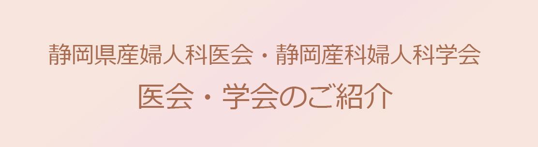 静岡県産婦人科医会・静岡県産婦人科学会ご紹介